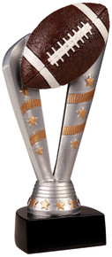 "8"" Fanfare Football Resin"