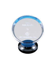 "7"" Blue Halo Acrylic"