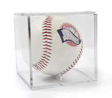 Clear Baseball Display Case with Holder
