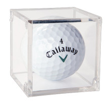 Clear Golf Ball Display Case