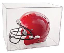 Clear Helmet Display Case