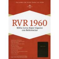 Biblia RVR 1960 Letra Súper Gigante con Referencias (Piel fabricada)