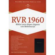 Biblia RVR 1960 Letra Super Gigante con Referencias (Imitación piel)