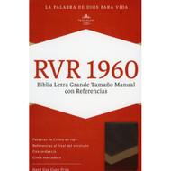 Biblia RVR 1960 Letra Grande Tamaño Manual con Referencias