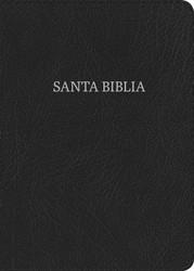 Biblia RVR 1960 Letra Grande Tamaño Manual (Negro piel fabricada)