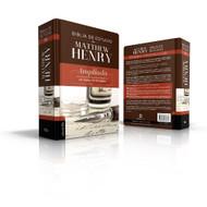 Biblia RVR 1960de Estudio Matthew Henry (Tapa dura, con índice)
