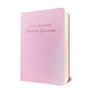 Biblia de Estudio Herencia Reformada - Simil piel (Rosado)