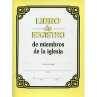 Libro de Registro de Miembros de la Iglesia | Log Book for Church Members