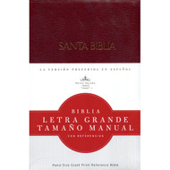 Biblia RVR 1960 Letra Grande, Tamaño Manual