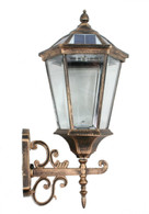 Large Outdoor Solar powered LED Wall Light Lamp SL-7403