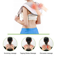 Neck Shoulder Back Tapping Massager Heated Therapy plus Hand Massage