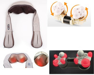 Kendal Shiatsu Kneading Back Neck Shoulder Full Body Massager with Heated Therapy