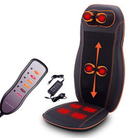 Kendal All in one Kneading Shiatsu Vibration Infrared Heating Seat Massage Cushion Massager for neck shoulder back lumbar thighs SI-CM8809