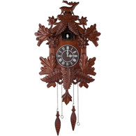 Vivid Large Deer Handcrafted Wood Cuckoo Clock CC105