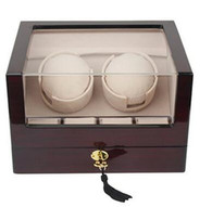 Kendal Top Quality Single Automatic Wooden Watch Winder with Advanced Control W2+4cbk