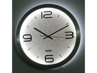 "KENDAL 12"" Modern Stylish Elegant Silent Home Kitchen/Living Room Lighted Wall Clock WC3012"