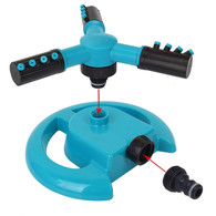 H&B Luxuries Rotating Three Arm Water Sprinklers for Garden, Lawn