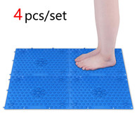 Acupressure Foot Massage Mat Reflexology Pad for Stress Relief FMP01 (Blue)