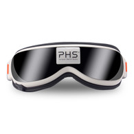 PHS Eye Massager with Heat, Vibration and Air Pressure Temple Massager,Eye Fatigue Relief Therapy Electirc Eye Care Machine PHS-EM2404G