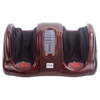 PHS Shiatsu Kneading Rolling Foot Massager Personal Health Studio PHS-9902-red