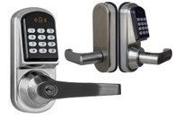 Kendal Electronic Keyless Deadbolt Door Lock Unlock with code, mifare cards, and mechanical key S200MF-1