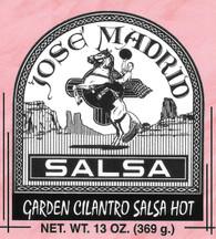 Garden Cilantro Salsa Hot