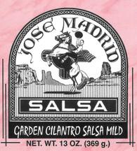 Garden Cilantro Salsa Mild