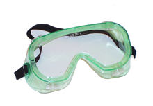 Clear Soft Molded Vinyl Goggles