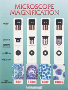 Wall Chart - Microscope Mag.