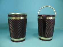 Georgian Plate or Log  Buckets - Spiral Twist