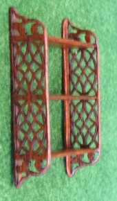 Hanging Fretwork Shelf