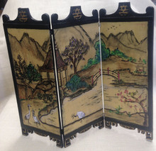 Painted Chinese Screen