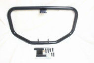 Black XL Engine Guard Crash Bar, Mounting Hardware