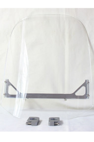 "14"" x 14"" Acrylic Plastic Motorcycle Windscreen"