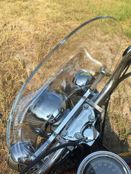Honda Shadow Ace VT 750 VT750 Deluxe Windscreen Windshield Heavy Acrylic Plastic