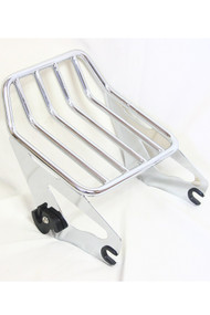 Detachable Chrome 2-up Luggage Rack