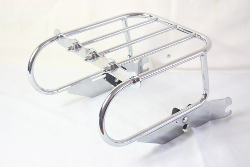 Two Up Tour pak Luggage Rack for FLSTS 1997 to 2002