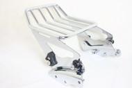 Luggage Rack and Docking Point Combo Set: Detachable 2-up Luggage Rack, 4-point Docking Hardware Kit