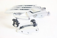 Luggage Rack and Docking Point Combo Detachable Stealth Luggage Rack 4-Point Docking Hardware kit 2009  2010 2011 2012 2013