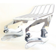 Detachable two up luggage rack and four point docking hardware for touring models  2014 2015 2016 2017 2018 2019