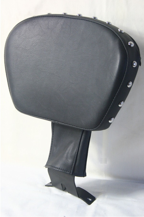 Stud Rider Backrest with Bracket for Softail