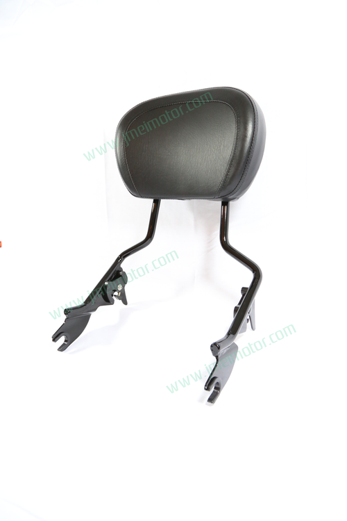 Detachable Sissy Bar Backrest with Backrest Pad Black  2009 2010 2011 2012 2013 2014 2015 2016 2017 2018 2019
