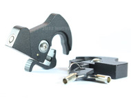 Locking Detachable Rotary Latch Kit with one Lock