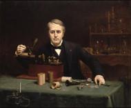 Thomas Alva Edison 1890 by Abraham Archibald Anderson