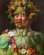 Rudolf II of Habsburg as Vertumnus 1590 by Giuseppe Arcimboldo