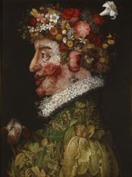 La Primavera 1563 by Giuseppe Arcimboldo