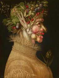 The Summer 1563 by Giuseppe Arcimboldo