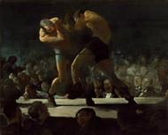 Club Night 1907 by George Wesley Bellows