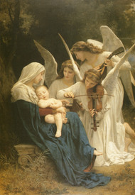 Song of the Angels by William Adolph Bouguereau