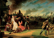 Order Number 11 1865 by George Caleb Bingham Framed Print on Canvas